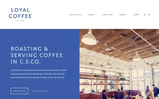 Screenshot of Loyalcoffee