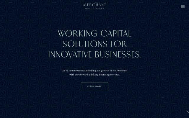 Screenshot of Merchantfinancial