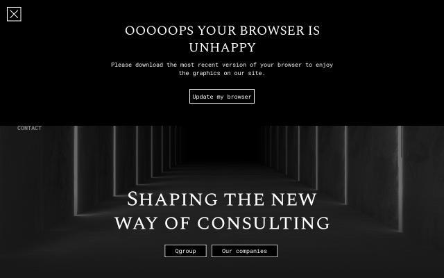 Screenshot of Q