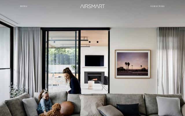 Screenshot of Airsmart