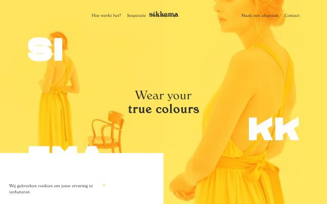 Screenshot of Sikkema