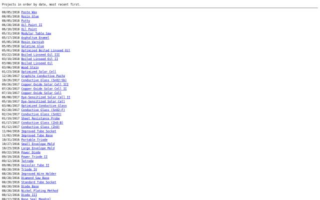 Screenshot of Neocities