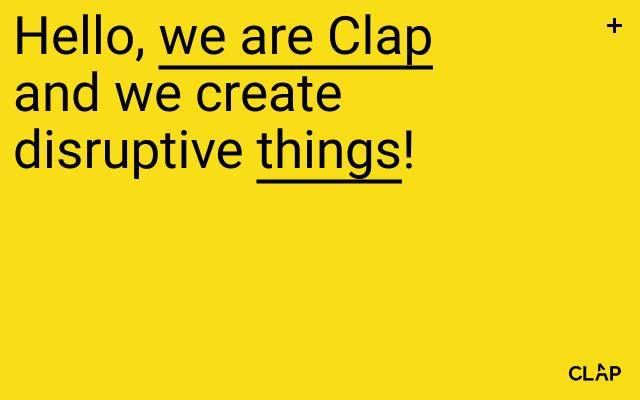 Screenshot of Weareclap