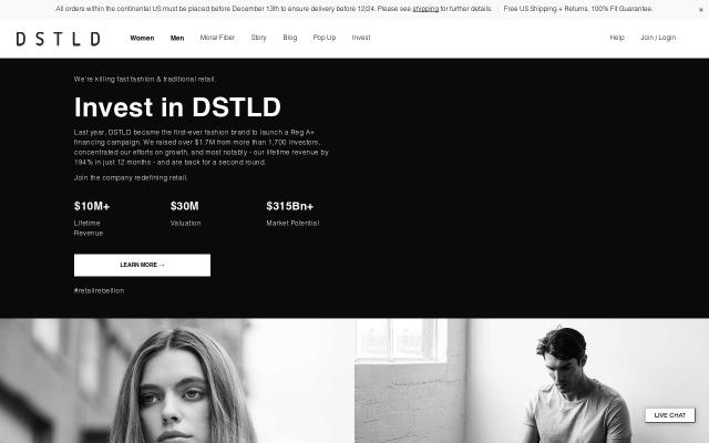 Screenshot of Dstld