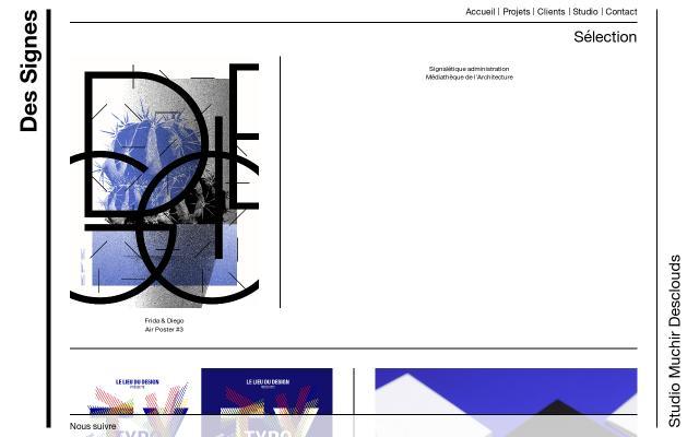 Screenshot of Des-signes
