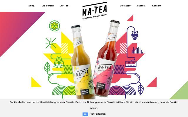 Screenshot of Ma-tea