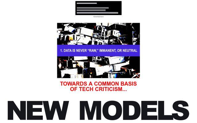 Screenshot of Newmodels
