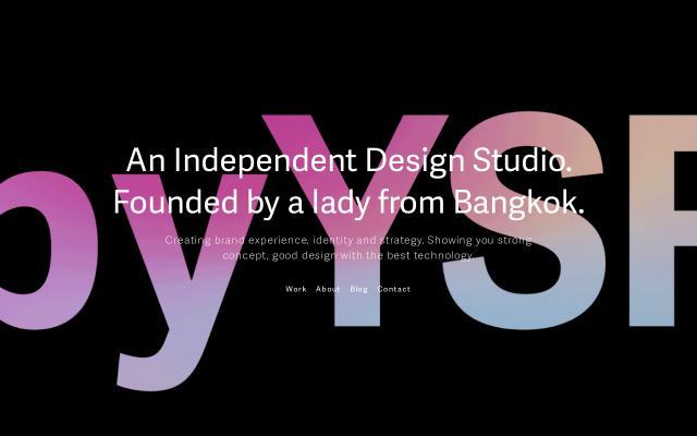 Screenshot of StudioYSR