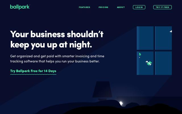 Screenshot of Getballpark