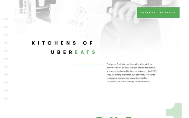 Screenshot of Kitchensofubereats