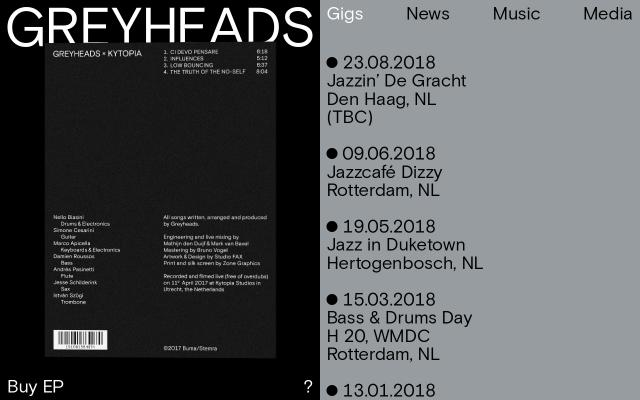 Screenshot of Greyheads