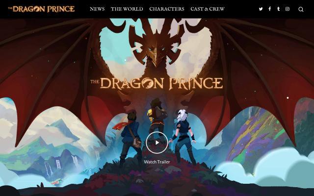 Screenshot of Thedragonprince