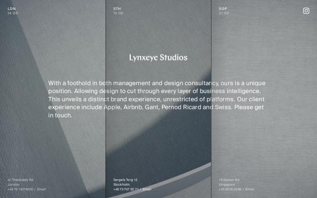 Screenshot of Lynxeyestudios