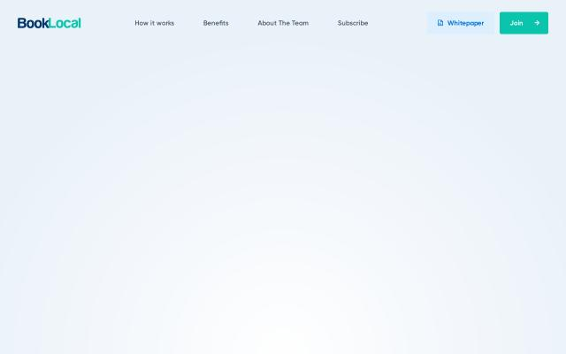 Screenshot of Booklocal