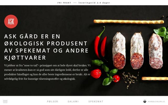 Screenshot of Askgard