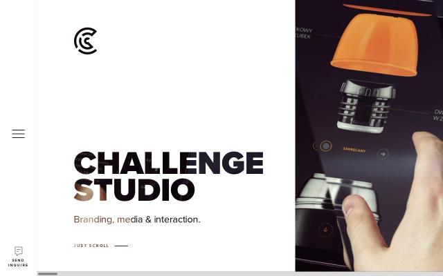 Screenshot of Challengestudio