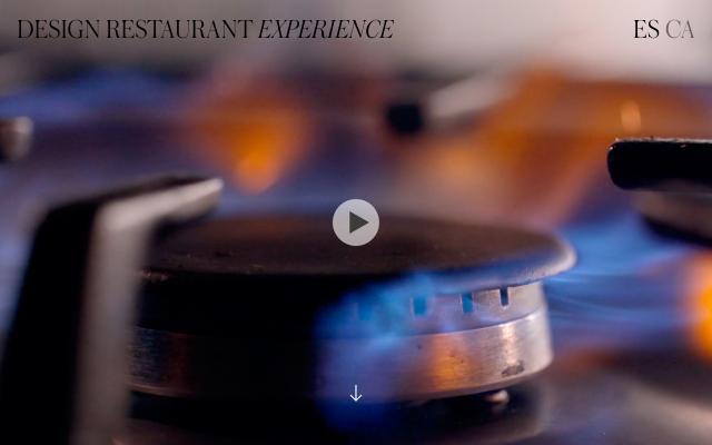 Screenshot of Design The Restaurant Experience