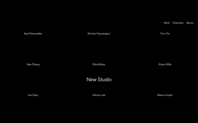 Screenshot of Newstudio