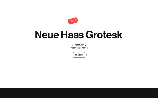 Screenshot of Font