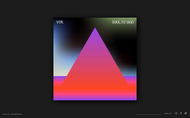 Screenshot of Vtr-music