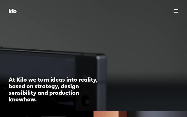 Screenshot of Kilodesign