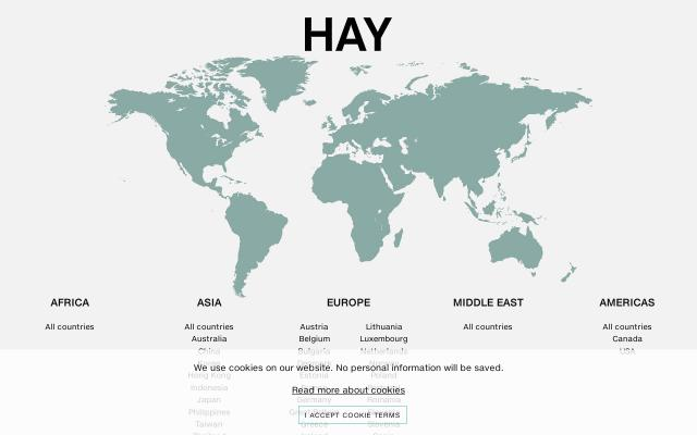 Screenshot of Hay