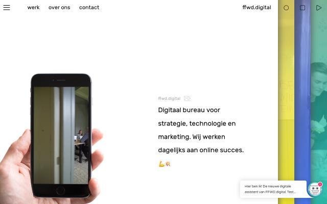 Screenshot of Ffwd