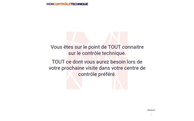 Screenshot of Moncontroletechnique