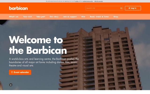 Screenshot of Barbican