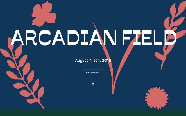 Screenshot of Arcadianfield