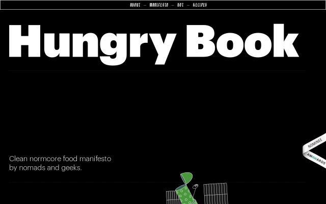 Screenshot of Hungrybook