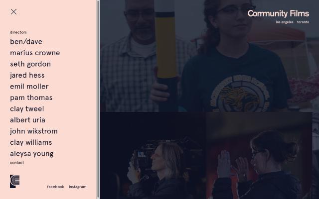 Screenshot of Communityfilms