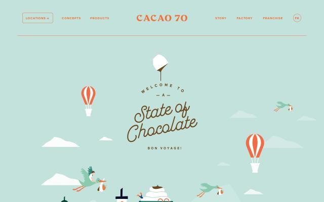 Screenshot of Cacao70