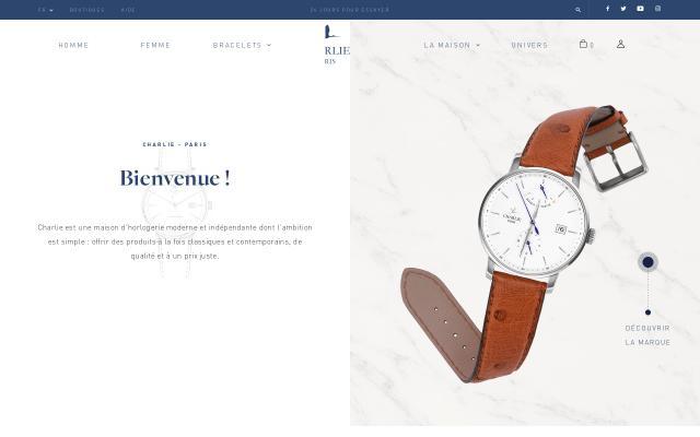 Screenshot of Charlie-paris