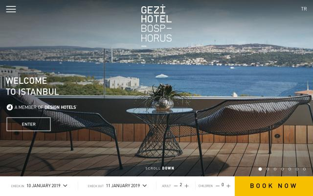 Screenshot of Gezibosphorus
