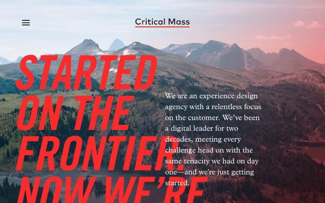 Screenshot of Criticalmass
