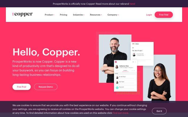 Screenshot of Copper