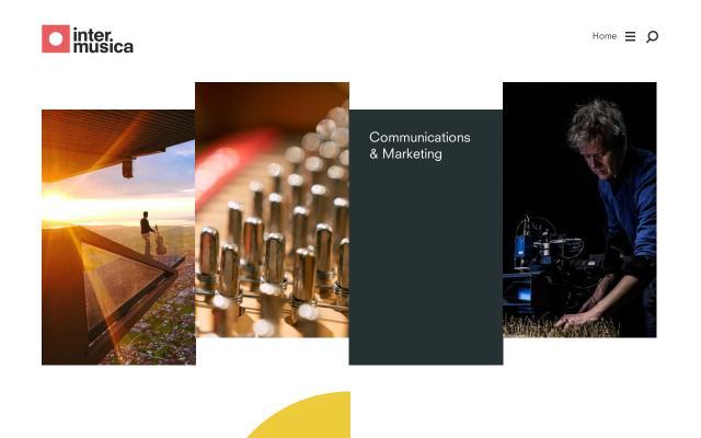 Screenshot of Intermusica