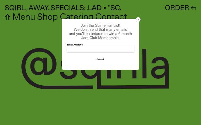 Screenshot of Sqirlla