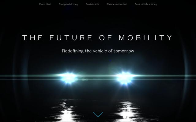 Screenshot of Futuremobility