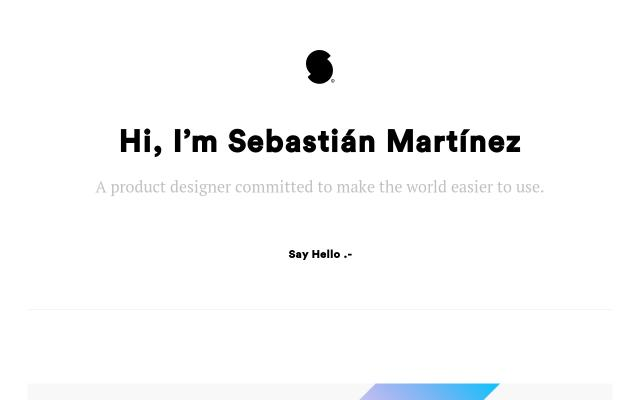 Screenshot of Sebastian-martinez