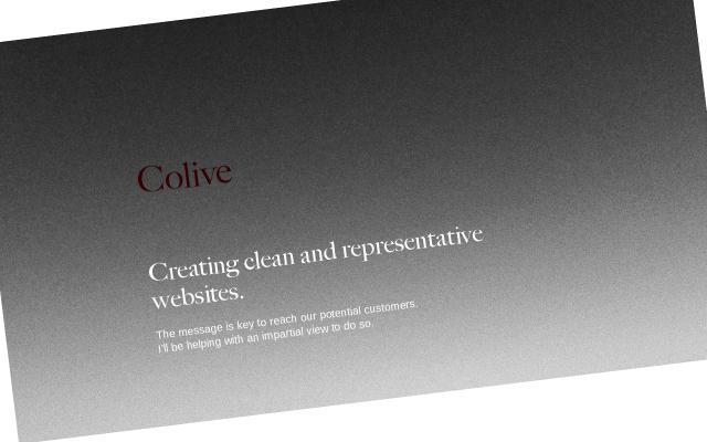Screenshot of Colive