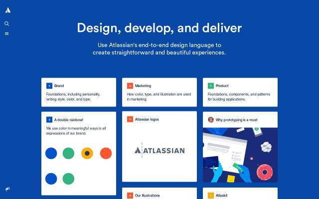 Screenshot of Atlassian
