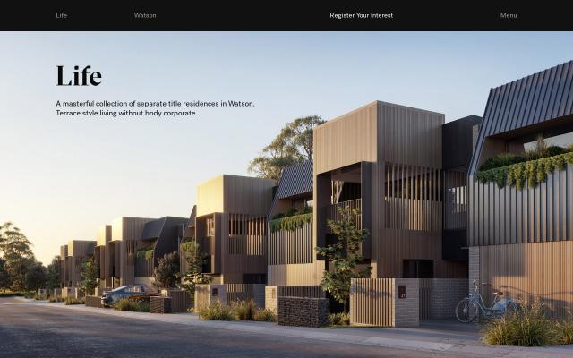 Screenshot of Lifewatson