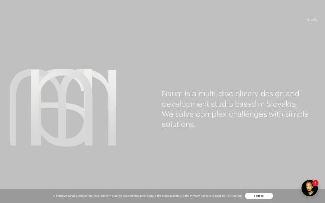 Screenshot of Naum