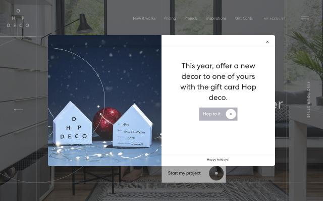 Screenshot of Hopdeco
