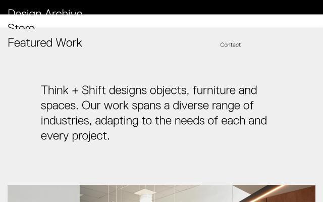Screenshot of Thinkandshift
