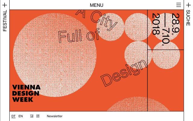 Screenshot of Viennadesignweek