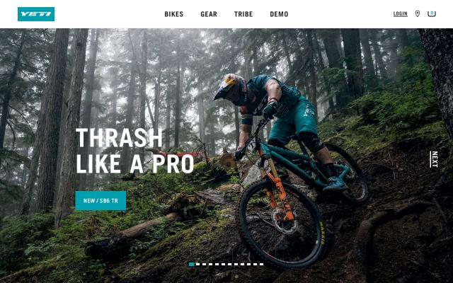 Screenshot of Yeticycles