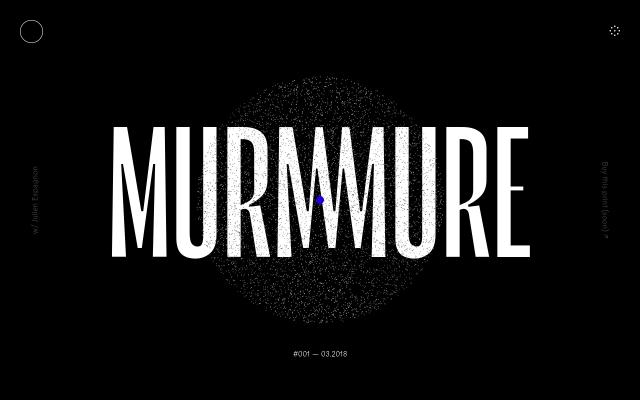 Screenshot of Murmure